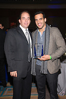 Alex Rodriguez-Roig and Danell Leyva at The Boys and Girls Club of Miami Wild About Kids 2012 Gala at The Four Seasons, Miami, FL on October 20, 2012