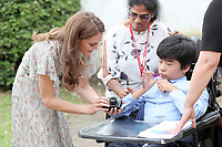 25 June 2019 - London, UK - Kate Duchess of Cambridge, Katherine, Catherine Middleton during a photography workshop for Action for Children, run by the Royal Photographic Society at Warren Park. Photo Credit: ALPR/AdMedia