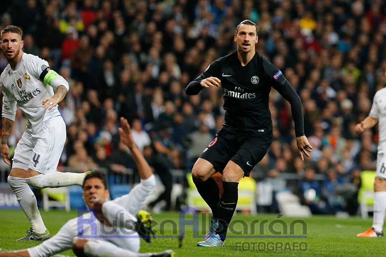Paris Saint Germain´s forward Zlatan Ibrahimovic