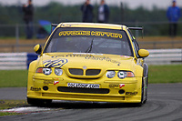Round 4 of the 2002 British Touring Car Championship. #22 Colin Turkington (GBR). Team Atomic Kitten. MG ZS.