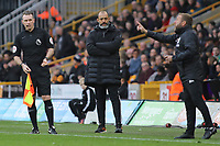 Wolverhampton Wanderers Manager Nuno Espirito Santo during Wolverhampton Wanderers vs Brighton & Hove Albion, Premier League Football at Molineux on 7th March 2020