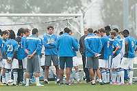 Carson, CA. - Tuesday, January 20, 2015: USMNT Training vs UCLA at StubHub Center.