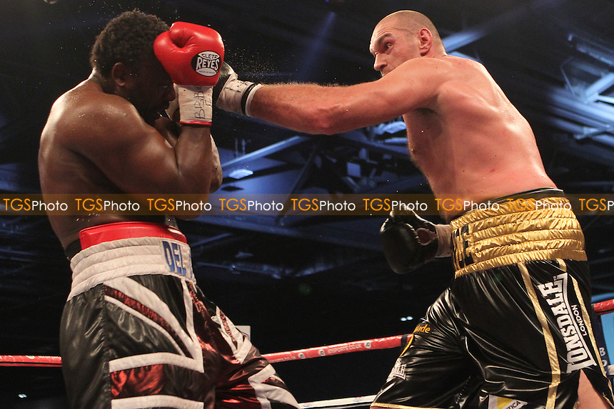Tyson Fury vs Dereck Chisora- Boxing at the Excel Centre, London, promoted by Frank Warren - 29/11/14 - MANDATORY CREDIT: Chris Royle/TGSPHOTO - Self billing applies where appropriate - contact@tgsphoto.co.uk - NO UNPAID USE