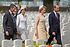 31.07.2017, Ypres; Belgium: PRINCE CHARLES, QUEEN MATHILDE AND KING PHILIPPE OF BELGIUM, DUKE &amp; DUCHESS OF CAMBRIDGE<br />attend a ceremony to honour those who lost their lives in the Battle of Passchendaele, the Third Battle of Ypres at Tyne Cot Commonwealth War Graves Cemetery.<br />This year marks the centenary anniversary of the beginning of the Battle of Passchendaele, the Third Battle of Ypres at Tyne Cot Commonwealth War Graves Cemetery.The battle in Flanders began on 31 July 1971 and was a major engagement in the First World War, claiming the lives of around 275,000 British and Commonwealth Military personnel and around 200,000 German lives.<br />Mandatory Credit Photo: &copy;MoD/NEWSPIX INTERNATIONAL<br /><br />IMMEDIATE CONFIRMATION OF USAGE REQUIRED:<br />Newspix International, 31 Chinnery Hill, Bishop's Stortford, ENGLAND CM23 3PS<br />Tel:+441279 324672  ; Fax: +441279656877<br />Mobile:  07775681153<br />e-mail: info@newspixinternational.co.uk<br />*All fees payable to Newspix International*