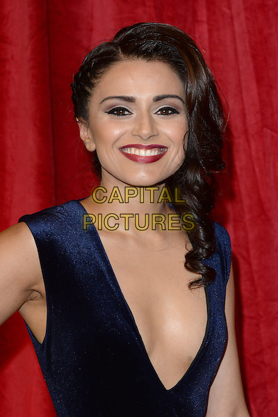 LONDON, ENGLAND - MAY 28: Bhavna Limbachia attends the British Soap Awards 2016 at Hackney Town Hall on May 28, 2016 in London, England.<br /> CAP/BEL<br /> &copy;BEL/Capital Pictures