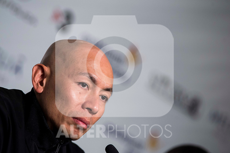 "Hongkonger director Dante Lam during the press conference of the presentation of the film ""Operation Mekong"" at Festival de Cine Fantastico de Sitges in Barcelona. October 10, Spain. 2016. (ALTERPHOTOS/BorjaB.Hojas)"