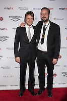 NEW YORK, NY - NOVEMBER 19: Tim van Aelst and Tom Baetens at the 40th International Emmy Awards in New York. November 19, 2012. © Diego Corredor/MediaPunch Inc. /NortePhoto