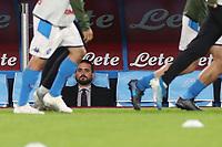 Edoardo De Laurentiis of Napoli during the warm up<br /> Napoli 09-11-2019 Stadio San Paolo <br /> Football Serie A 2019/2020 <br /> SSC Napoli - Genoa CFC<br /> Photo Cesare Purini / Insidefoto