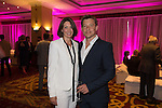 Ben Shephard with his wife Annie at the gala dinner.<br /> The Celebrity Cup 2015<br /> Celtic Manor Resort<br /> <br /> 04.07.15<br /> &copy;Steve Pope - SPORTINGWALES