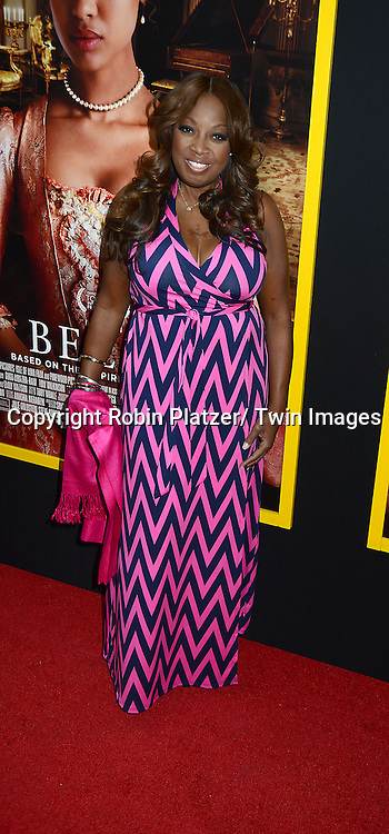 """Star Jones attends the New York Premiere of """" Belle"""" on April 28, 2014 at The Paris Theatre in New York City, New York, USA."""