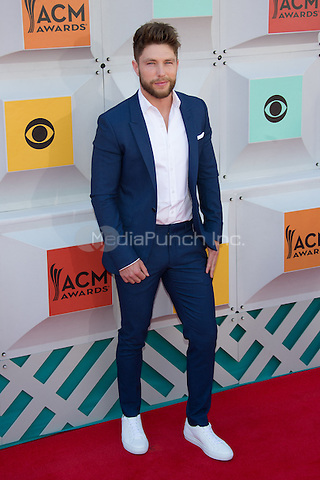 LAS VEGAS, NV - APRIL3: Chris Lane arriving to the 51st Academy Of Country Music Awards at the MGM Grand Garden Arena in Las Vegas, Nevada on April 3, 2016. Credit: Erik Kabik Photography/MediaPunch