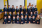 Ms Michelle O'Brien with her Junior Infants class at O'Brennan NS on Thursday. Included are: Rory Bowler, Abbie Conway, Freya Cosgrove, Paddy Creagh, Sorcha Foley, James Freeman, Claire Godley, Andrea Greer, Jamie Harrington, Evan Horgan, Chloe Lacey, Ethan Lacey, Blake Leen, Patrick Leen, Oliver Mason, Emily Moriarty, Donnchadh Noonan, Shane O'Sullivan, Amy Roche, Hannah Roche, Alice Savage, Aoibhín Sheehan, Oran Silles, Tara Slattery, Olivia Sweeney, Natalie Turner.