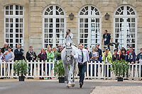 AUS-Stuart Tinney (PLUTO MIO) FIRST HORSE INSPECTION: EVENTING: The Alltech FEI World Equestrian Games 2014 In Normandy - France (Wednesday 27 August) CREDIT: Libby Law COPYRIGHT: LIBBY LAW PHOTOGRAPHY - NZL
