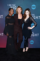 HOLLYWOOD, CA - MAY 9: Golden Brooks, Connie Nielsen, India Eisley at the &quot;I Am The Night FYC Event at the Television Academy in North Hollywood, California on May 9, 2019.      <br /> CAP/MPI/DE<br /> &copy;DE/MPI/Capital Pictures