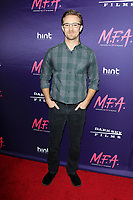 LOS ANGELES - OCT 2: Michael Welch at the premiere of Dark Sky Films' 'M.F.A.' at The London West Hollywood on October 2, 2017 in West Hollywood, California