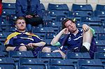 Scotland fans stunned at full time as Hampden empties