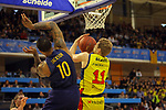 XXXVIII Lliga Nacional Catalana ACB 2017.<br /> FC Barcelona Lassa vs BC Morabanc Andorra: 89-70<br /> Edwin Jackson vs Jaka Blazic.