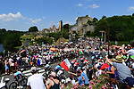 31 degrees during Stage 2 of the 2018 Tour de France running 182.5km from Mouilleron-Saint-Germain to La Roche-sur-Yon, France. 8th July 2018. <br /> Picture: ASO/Alex Broadway | Cyclefile<br /> All photos usage must carry mandatory copyright credit (&copy; Cyclefile | ASO/Alex Broadway)