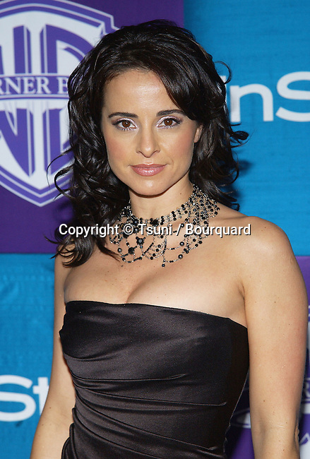 Jacqueline Obrador arriving In Style Warner Party at the Golden Globes Awards  Los Angeles. January 16, 2005.