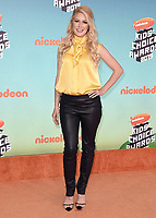LOS ANGELES, CA - MARCH 23:  Heidi Montag at Nickelodeon's 2019 Kids' Choice Awards at the Galen Center on March 23, 2019 in Los Angeles, California. (Photo by Scott KirklandPictureGroup)