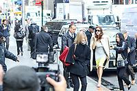 NEW YORK, NY, 03.04.2017 -SARAH-GELLAR - A atriz norte-americana Kate Walsh é vista chegando a um programa de televisão na região da Times Square na Ilha de Manhattan na cidade de New York nesta segunda-feira, 03. (Foto: William Volcov/Brazil Photo Press)