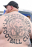A Leicester city fans Tattoo at the King Power Stadium Leicester. Photo credit should read: Nathan Stirk/Sportimage<br /> <br /> <br /> <br /> <br /> <br /> <br /> <br /> <br /> <br /> <br /> <br /> <br /> <br /> <br /> <br /> <br /> <br /> <br /> <br /> <br /> <br /> <br /> <br /> <br /> <br /> <br /> <br /> <br /> <br /> <br /> <br /> - Newcastle Utd vs Tottenham - St James' Park Stadium - Newcastle Upon Tyne - England - 19th April 2015 - Picture Phil Oldham/Sportimage