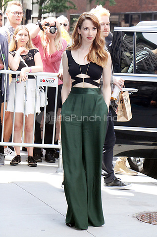 NEW YORK, NY - JUNE 27: Molly Bernard at AOL Build in New York City on June 27, 2017. Credit: RW/MediaPunch