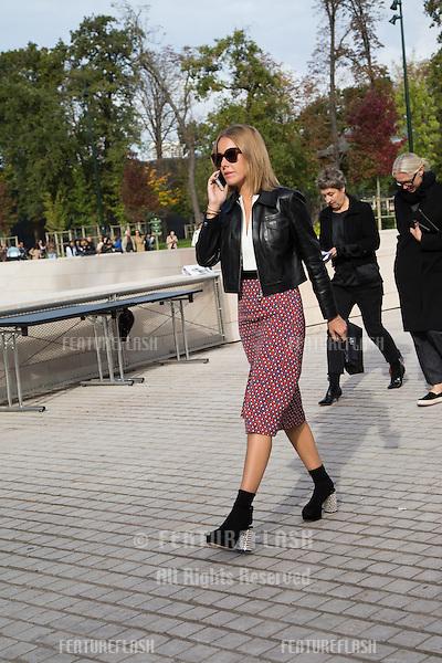 Ksenia Sobchak attend Louis Vuitton Show Front Row - Paris Fashion Week  2016.<br /> October 7, 2015 Paris, France<br /> Picture: Kristina Afanasyeva / Featureflash