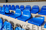 The destruction of 24 seats in the stand at the St Mary's GAA grounds in Cahersiveen.
