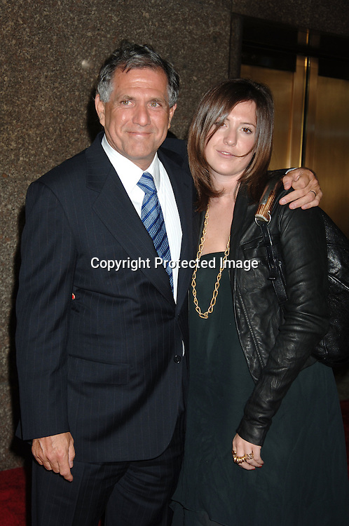 Les Moonves and daughter Sarah..arriving at The Conde Nast Media Group's Third Annual Live Fashion Rocks Concert at Radio City Music Hall on September 7, 2006. ..Robin Platzer, Twin Images