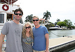 As The World Turns' Austin Peck - Terri Colombino - Eric Sheffer Stevens - 12th Annual SoapFest - Actors take a break on the Ramblin' Rose with Ken as the captain on May 14, 2010 on Marco Island, FLA. (Photo by Sue Coflin/Max Photos)