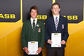 Boys Tennis finalists Chester Espie and Rhett Purcell. ASB College Sport Young Sportsperson of the Year Awards held at Eden Park, Auckland, on November 24th 2011.