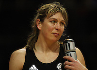 Irene Van Dyk after the loss during the International  Netball Series match between the NZ Silver Ferns and World 7 at TSB Bank Arena, Wellington, New Zealand on Monday, 24 August 2009. Photo: Dave Lintott / lintottphoto.co.nz