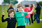 Conor Nolan and Charlie Nolan at the Co League Div 5 Churchill V Ballylongford at Churchill GAA Ground on Sunday