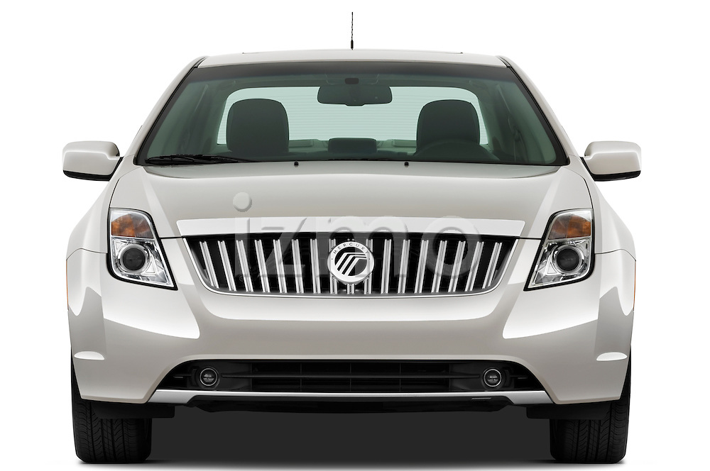 Straight front view of a 2010 Mercury Milan Hybrid