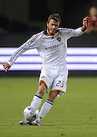 Los Angeles Galaxy's David Beckham during game against San Jose at the Home Depot Center. Los Angeles Galaxy beat San Jose 2-0 Saturday, October 24. 2009, in Carson, California.