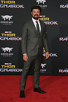 HOLLYWOOD, CA - OCTOBER 10: Karl Urban at the world premier of Marvel Studios&rsquo; Thor: Ragnarok  in Hollywood, California on October 10, 2017. <br /> CAP/MPIFS<br /> &copy;MPIFS/Capital Pictures