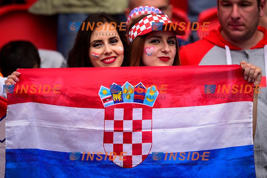Ambiance <br /> Paris 12-06-2016 Parc des Princes Football Euro2016 Turkey - Croatia / Turchia - Croazia Group Stage Group D. Foto Panoramic / Insidefoto