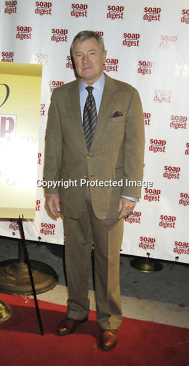 Don Hastings..at the 30th Anniversary Party for Soap Opera Digest on ..November 17, 2005 at PM Lounge. ..Photo by Robin Platzer, Twin Images