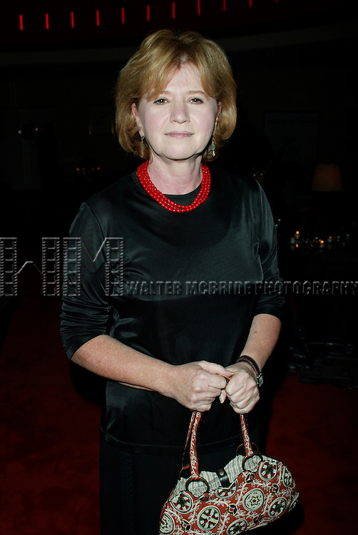 Letty Aronson.( sister of Woody Allen ).Attending the Pre-Cocktail Reception Party for the Movie Premiere of ANYTHING ELSE at Restaurant Brasserie .8 1/2  with a Screening at the Paris Theatre, New York City..September 16, 2003..© Walter McBride /