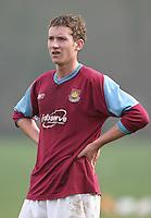 David Shaw of West Ham - Wimbledon U17 vs West Ham Utd U17 -  at Wimbledon - 14/02/04 - MANDATORY CREDIT: Rob Newell