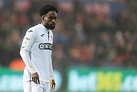 Swansea City's Nathan Dyer<br /> <br /> Photographer Kevin Barnes/CameraSport<br /> <br /> The EFL Sky Bet Championship - Swansea City v Bolton Wanderers - Saturday 2nd March 2019 - Liberty Stadium - Swansea<br /> <br /> World Copyright © 2019 CameraSport. All rights reserved. 43 Linden Ave. Countesthorpe. Leicester. England. LE8 5PG - Tel: +44 (0) 116 277 4147 - admin@camerasport.com - www.camerasport.com
