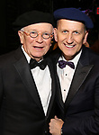 Terrence McNally and Tom Kirdahy attends Actors' Equity Broadway Opening Night Gypsy Robe Ceremony honoring Shina Ann Morris for  'Anastasia' at the Broadhurst Theatre on April 24, 2017 in New York City.
