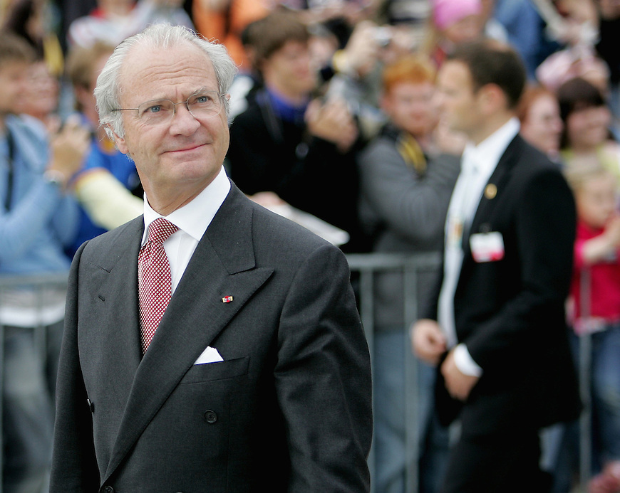 Oslo, 20050610. Kong Carl Gustaf av Sverige.