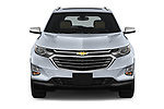 Car photography straight front view of a 2020 Chevrolet Equinox Premier 5 Door SUV