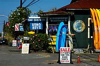 Kona Boys surf shop,south Kona, the Big Island of Hawaii