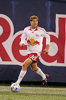 New York Red Bulls midfielder Luke Sassano. The New York Red Bulls defeated the Columbus Crew 2-0 during a Major League Soccer match at Giants Stadium in East Rutherford, NJ, on April 5, 2008.
