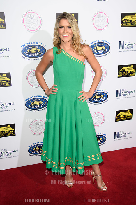 LONDON, UK. September 22, 2018: Gemma Oaten at the Paul Strank Charitable Trust Annual Gala at the Bank of England Club, London.<br /> Picture: Steve Vas/Featureflash
