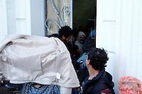 CURITIBA, PR, 04.11.2016 – EDUCAÇÃO-PR –  Estudantes ocupam o prédio histórico da Universidade Federal do Paraná (UFPR) na tarde desta sexta-feira (04) no centro de Curitiba (PR).(Foto: Paulo Lisboa/Brazil Photo Press)