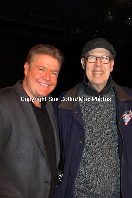 Breathing Under Dirt - A New Play by Guiding Light's Michael O'Leary and directed by Larry Moss (R) at an industry reading on January 24, 2017 at Cherry Lane Theater, New York City, New York.  (Photo by Sue Coflin/Max Photos)